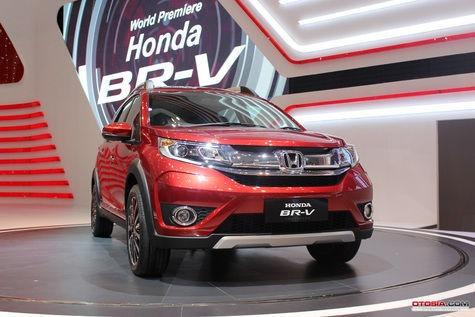 Br V Jadi Model Terlaris Honda Di Pameran