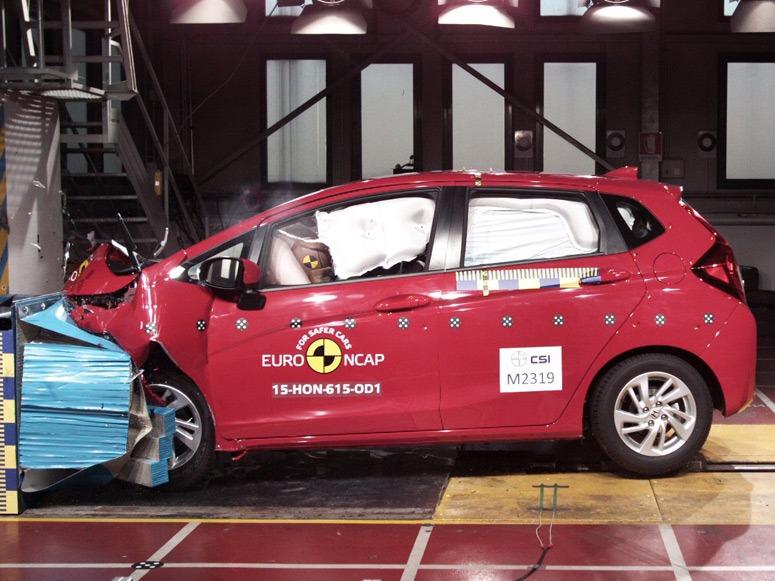 All New Honda Jazz raih predikat tingkat keselamatan terbaik versi Euro NCAP