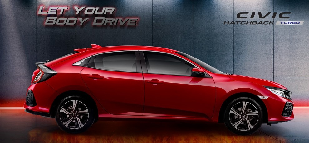 civic hatchback turbo kudus